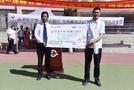 華文眾合向西藏娘熱小學捐贈自然數字書法教室