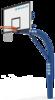 舒華品牌  場地設施  ?JLG-101D地埋式標準籃球架