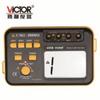 勝利精品 數顯絕緣電阻測試儀VC60B+ 數字兆歐表 絕緣測試儀