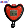 廠家直銷 運動秒表 電子秒表 健身計時器 心形跑表 單排定時器
