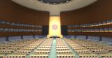 VR模拟联合国会议口译虚拟仿真实验教学系统