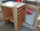 无毒水性漆 厂家大量供应 专业生产 木制幼儿园水杯柜 幼儿园家具
