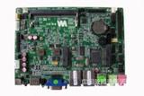 3.5寸无风扇工控主板,双网卡,支持VGA+HDMI,支持MSATA