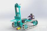 金属拼装-铲车机器人