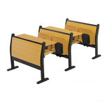 学校课桌椅连排椅阶梯教室排椅学生课桌椅高校排椅DC-201
