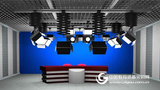 虚拟演播室 真三维虚拟系统 校园兴发娱乐平台系统 网络授课系统