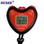 厂家直销 运动秒表 电子秒表 健身计时器 心形跑表 单排定时器