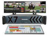 Streamstar X7机架式制播系统 慢动作回放及在线字幕编辑 现场切换与流媒体直播系统