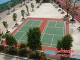 专业承建丙烯酸羽毛球场、丙烯酸排球场