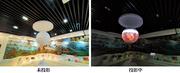 小球大世界、外球投影案例