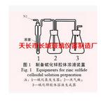 制备硫化锌胶体溶液装置硫化锌胶体溶液的制备可加工定制