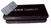 HDMI5口切换器,1.3B版本高清切换器