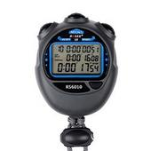 锐赛运动秒表 3排10道多功能可关机码表 跑步计时器 防水定时器
