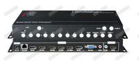 DP/HDMI/VGA四画面分割器 HDMI画面分割器 HDMI四画面合成器