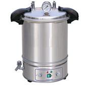 不銹鋼手提式壓力蒸汽滅菌器