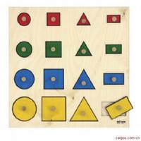几何图形嵌板游戏
