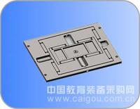 低热膨胀二维光学微动工作台