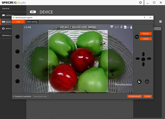 遙控你的高光譜成像 ——Specim IQ 手持式VNIR高光譜成像儀軟件升級