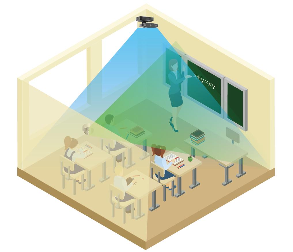 艾课-常态录播解决方案-录播教室高清4k录播设备