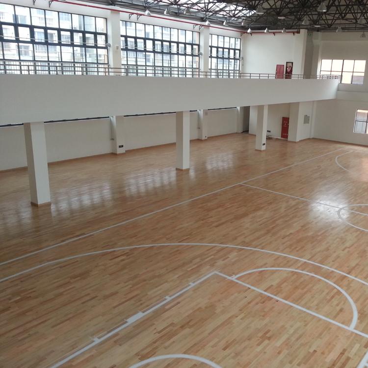 篮球木地板厂家_篮球实木地板批发_篮球馆木地板翻新--地拓体育