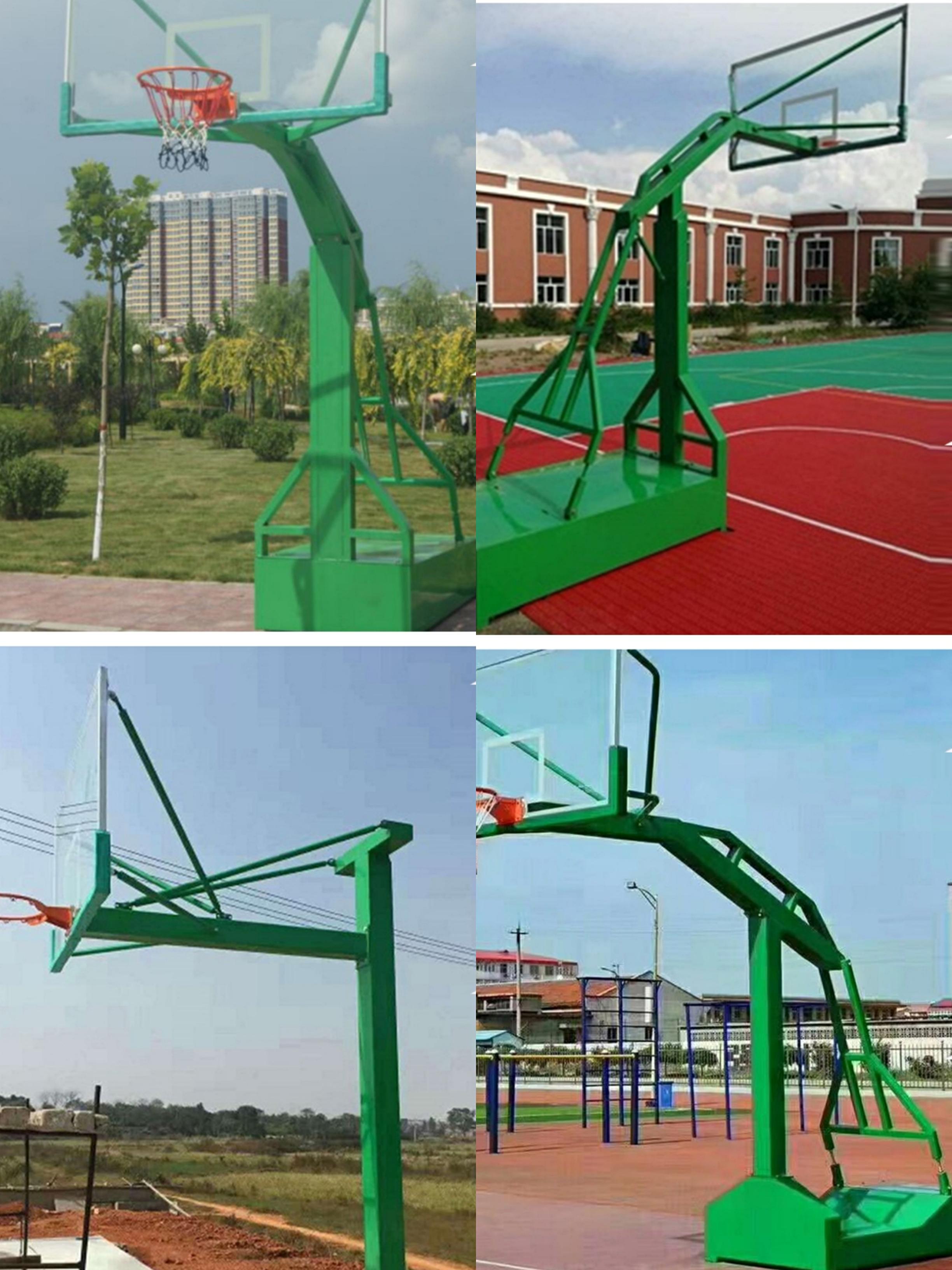 步耐   液压  篮球架
