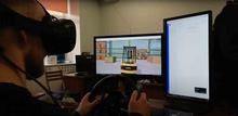 北京欧雷品牌  虚拟现实系统 VR  VR物流装卸机作业培训课程介绍