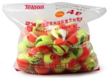 Teloon天龙儿童网球 832初学儿童球羊毛 832橘色-大童初学(48个整袋)