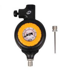 斯伯丁【SPALDING】篮球足排球测压表多功能气压表支持放气 8486SCN
