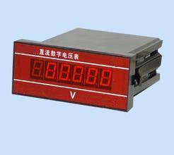 面板式直流数字电压表,数字电压表