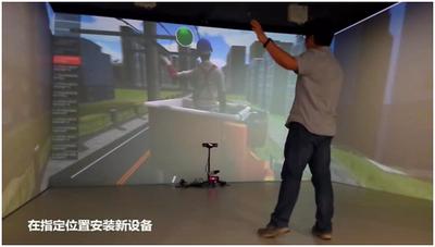 10kV配电线路检修沉浸式体感实操仿真培训系统,VR虚拟现实技术