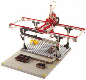 德国慧鱼工业模型—三轴门架