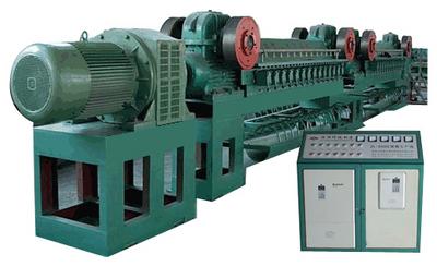 钢棉生产线