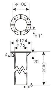 带灯夜光金属风向标/金属风向标/风向标