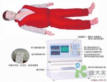 高级小屏幕液晶彩显电脑心肺复苏模拟人(先生/小姐)