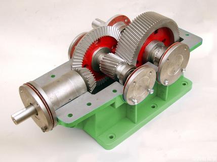 拆装测绘减速器教学模型(全铝制)