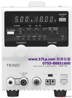 日本德士(TEXIO)PA18-3B稳压直流电源