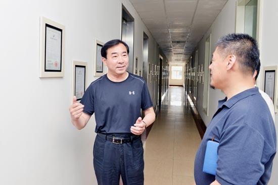 济南市政协副主席毕筱奇走访调研济南兰光