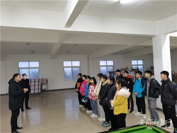 安徽宣城市机电学校开展学生寒假下企业社会实践活动