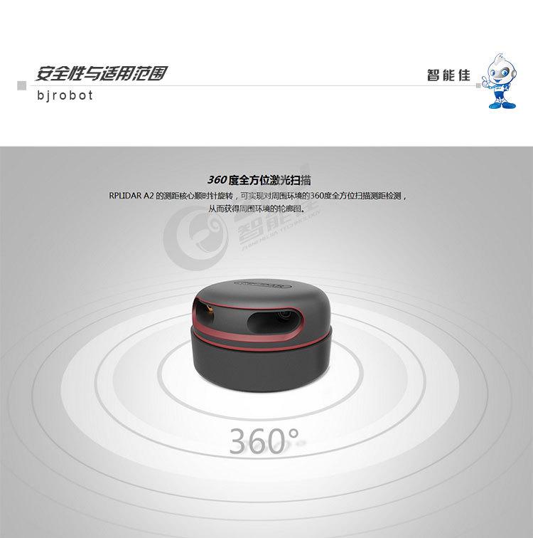 12M激光雷达 思岚 激光雷达测距 SLAMTEC RPLIDAR A2 360大屏互动