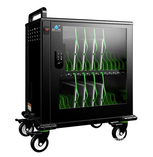 平板电脑充电柜 i pad充电车 移动充电车 数据同步充电柜