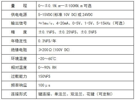 北京扭矩传感器静止型静态扭矩传感器