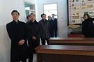山东省教育厅领导一行参观雪野中学