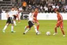 中德青少年足球友谊赛在柏林举办