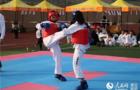湖北首届高校传统跆拳道公开赛举行