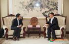 大连理工大学校长郭东明会见上海电气风电集团副总裁缪骏一行