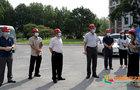 北京农学院领导带队开展校园安全生产专项检查并慰问暑期在岗教职工