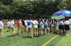 中学生阳光体育活动重庆站 快乐足球健康成长