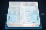 EBC空气环境机100m3/h洁净大新风,除醛净享安全舒适家