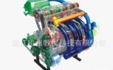 新桑塔納發動機模型 駕校教學器材 透明發動機模型