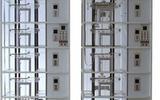 双联六层透明仿真教学电梯